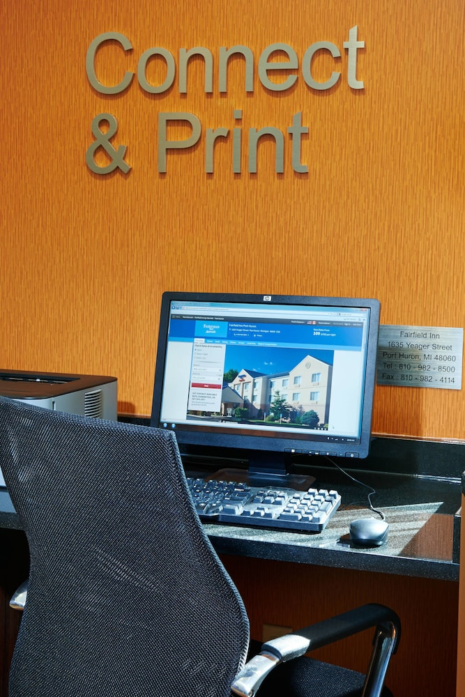 Business Center, Fairfield Inn By Marriott Port Huron