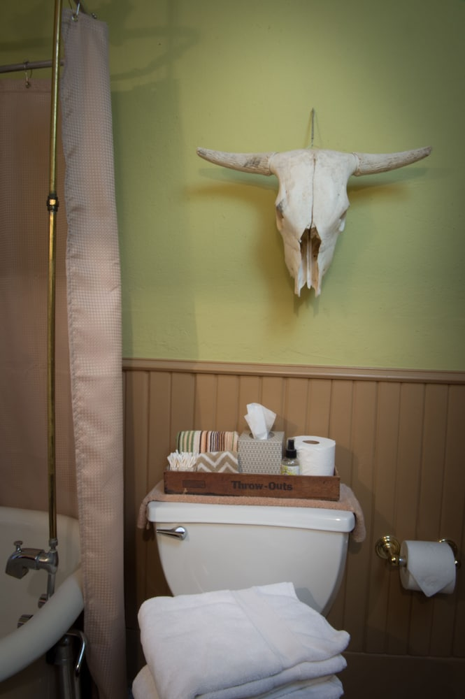 Bathroom, Texas White House