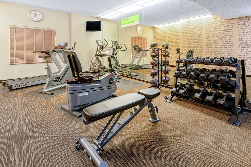 Fitness Facility, La Quinta Inn & Suites by Wyndham Salt Lake City Airport