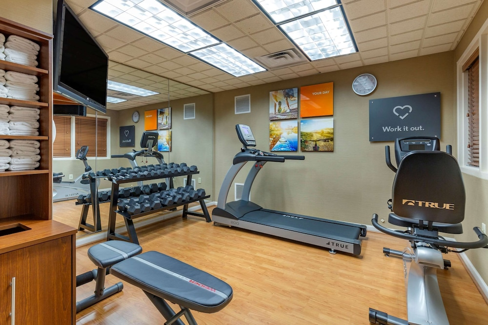 Fitness Facility, Comfort Suites Leesburg