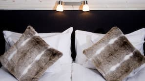 Extrasängar, gratis wi-fi och sängkläder