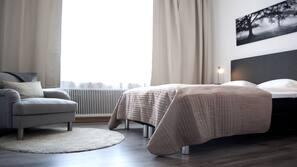 Allergitestade sängkläder, duntäcken, skrivbord och strykjärn/strykbräda