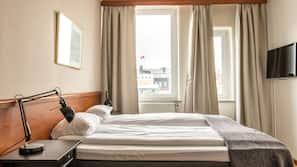 Ropa de cama hipoalergénica, edredones de plumas, escritorio