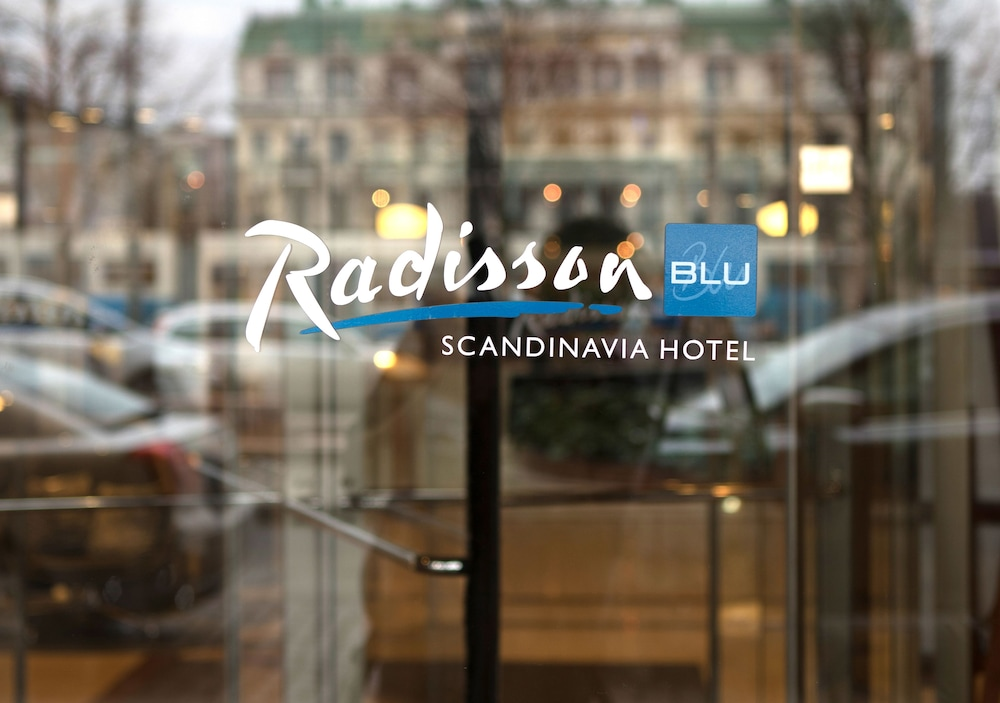 Interior Entrance, Radisson Blu Scandinavia Hotel