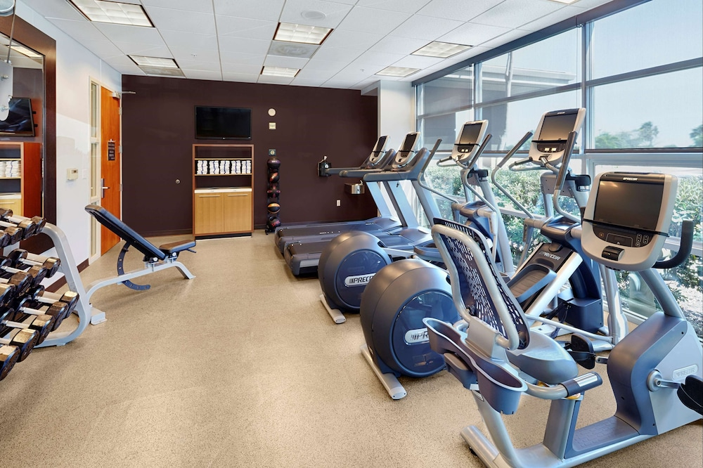 Fitness Facility, DoubleTree by Hilton Hotel San Francisco Airport North
