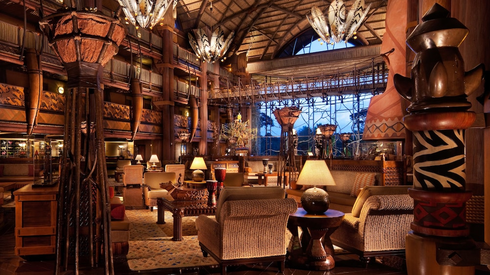 Disney S Animal Kingdom Lodge 4 0 Out Of 5 Courtyard View Featured Image Lobby