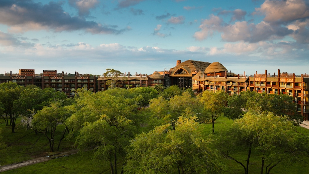 Aerial View, Disney's Animal Kingdom Lodge