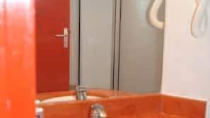 Free toiletries, hair dryer, towels, soap