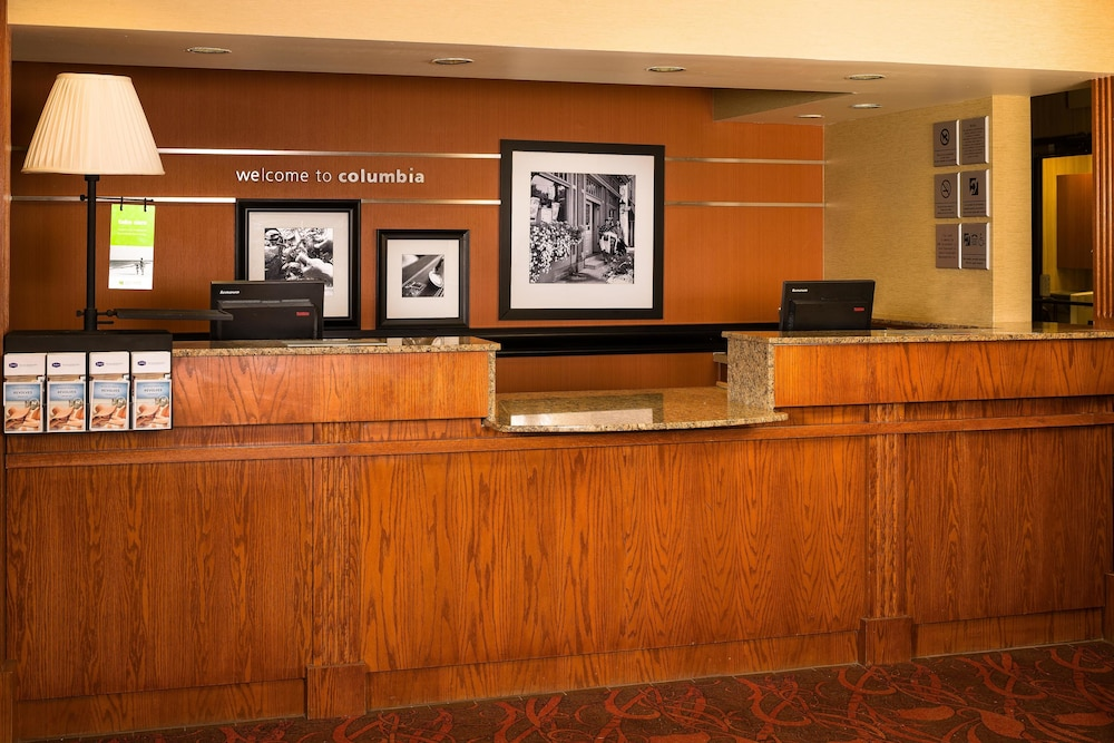 Reception, Hampton Inn Columbia