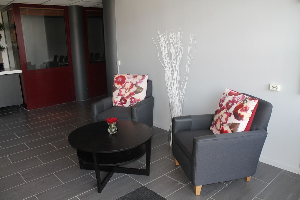 Lobby Sitting Area, Scandic Hell