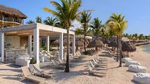 Private beach, beach massages, scuba diving, snorkeling