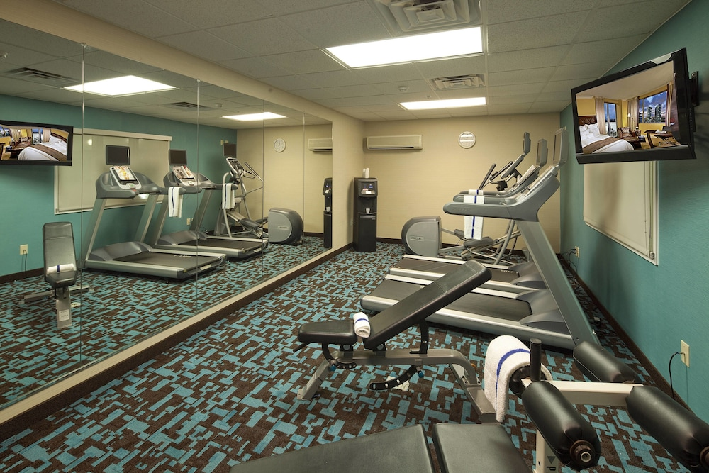Fitness Facility, Fairfield Inn & Suites by Marriott Cincinnati Eastgate