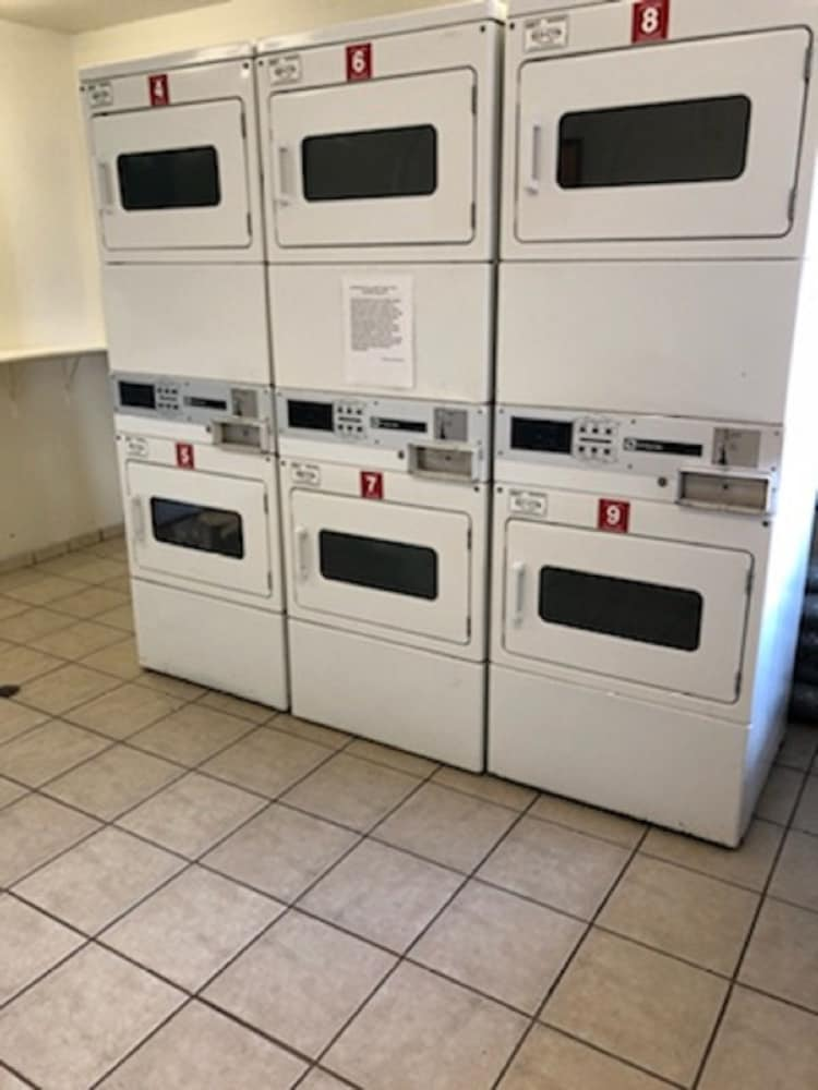Laundry Room, InTown Suites Extended Stay Gulfport MS