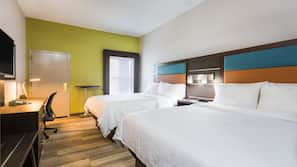 In-room safe, desk, iron/ironing board, cots/infant beds