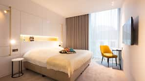 Lakens van Egyptisch katoen, luxe beddengoed, Select Comfort-bedden