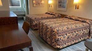 1 bedroom, desk, soundproofing, free WiFi