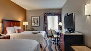In-room safe, laptop workspace, iron/ironing board, rollaway beds