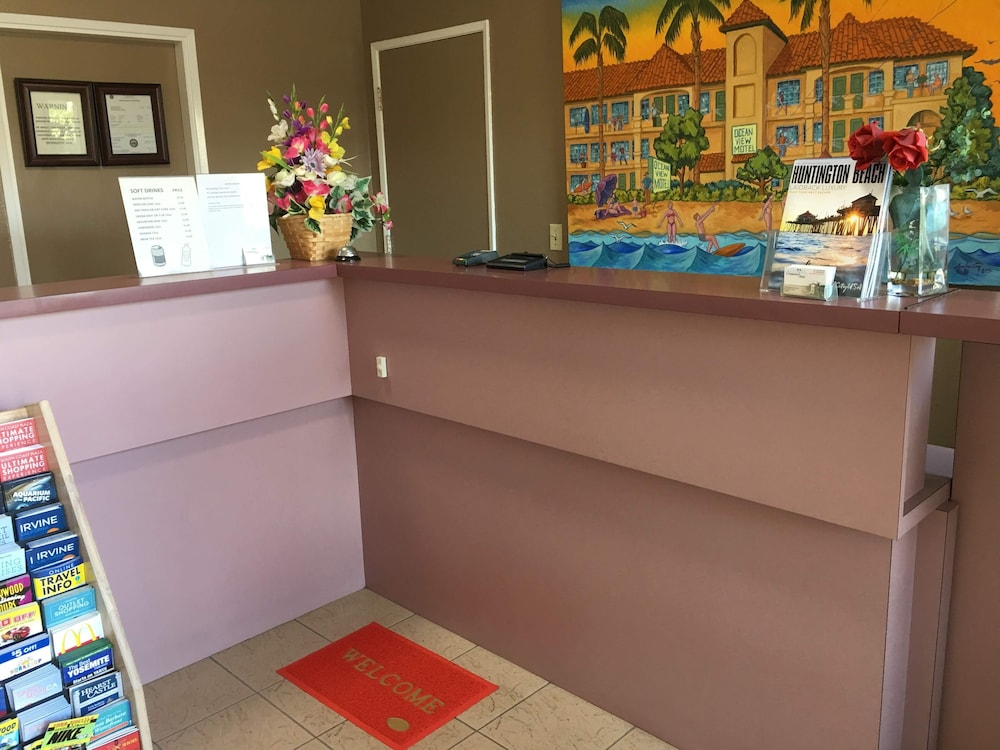Interior, Oceanview Motel - Huntington Beach