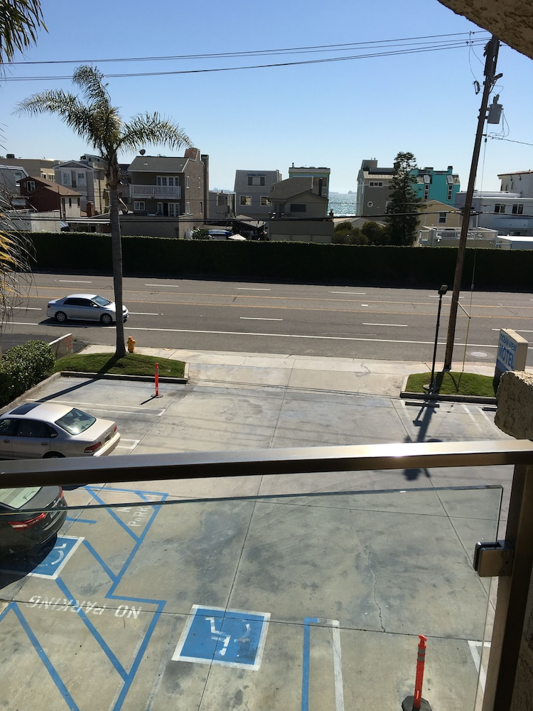 Front of Property, Oceanview Motel - Huntington Beach