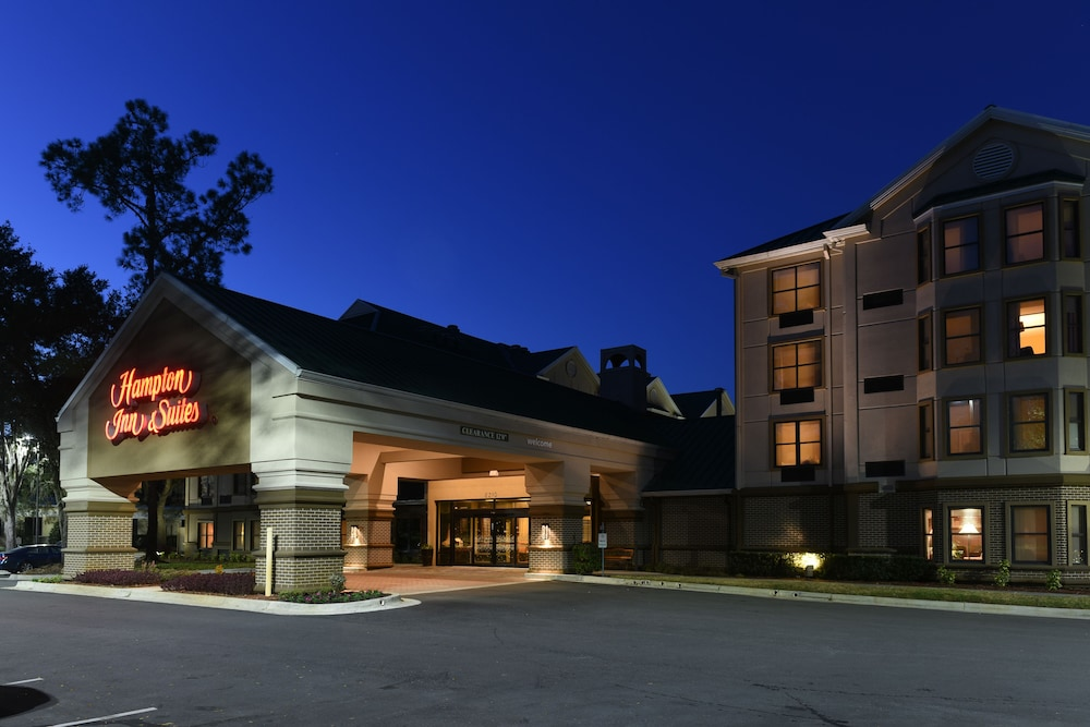 Front of Property - Evening/Night, Hampton Inn & Suites Tampa North