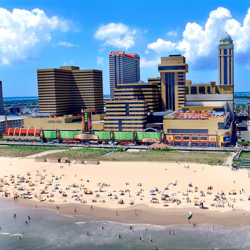 Beach, Tropicana Atlantic City