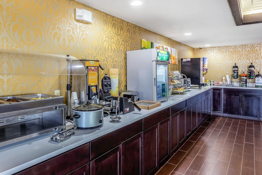 Breakfast Area, Quality Inn & Suites near Robins Air Force Base