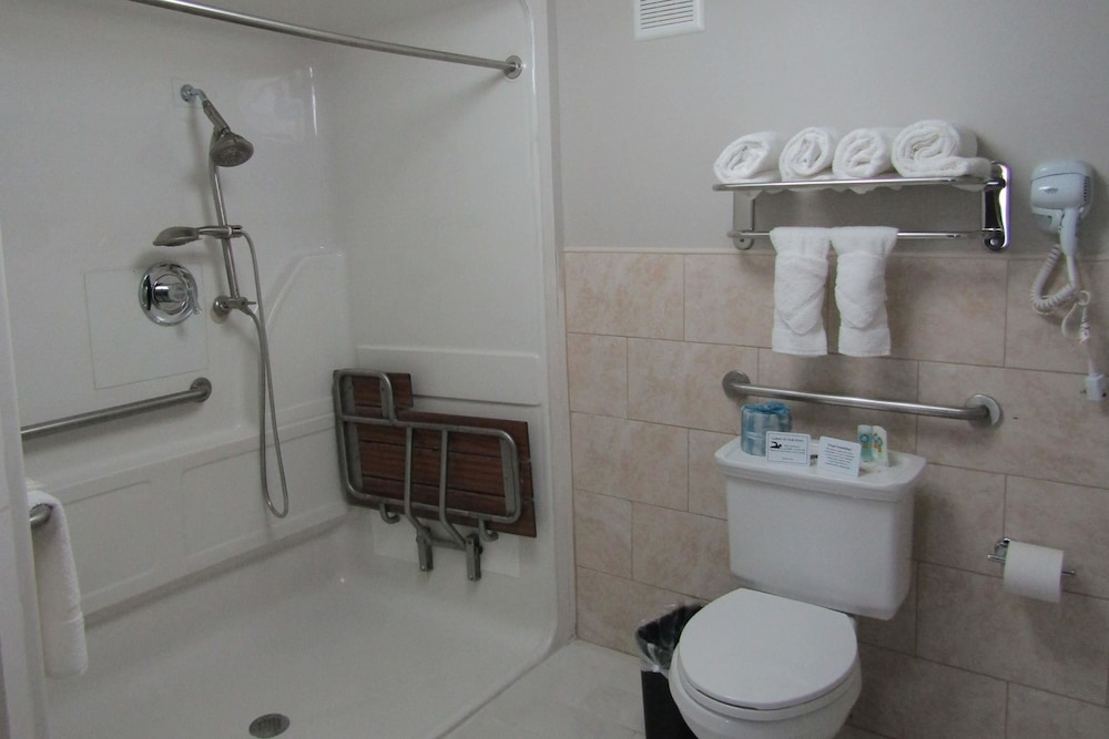 Bathroom, Quality Inn & Suites Kissimmee by The Lake