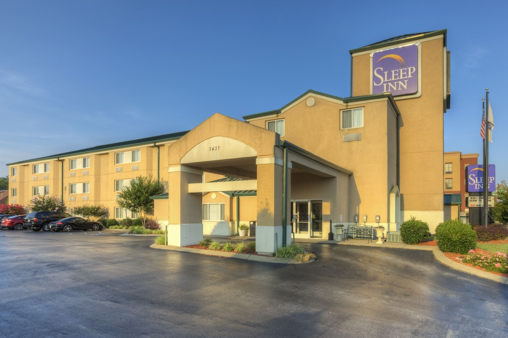 Exterior detail, Sleep Inn