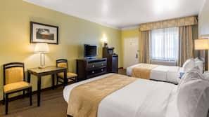 Premium bedding, down comforters, iron/ironing board, WiFi
