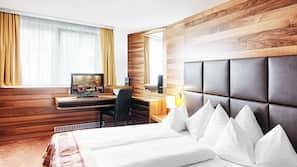 In-room safe, desk, laptop workspace, free WiFi
