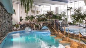 3 indoor pools