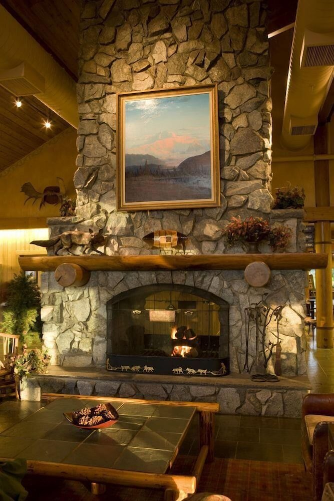 Lobby, MT. Mckinley Princess Lodge