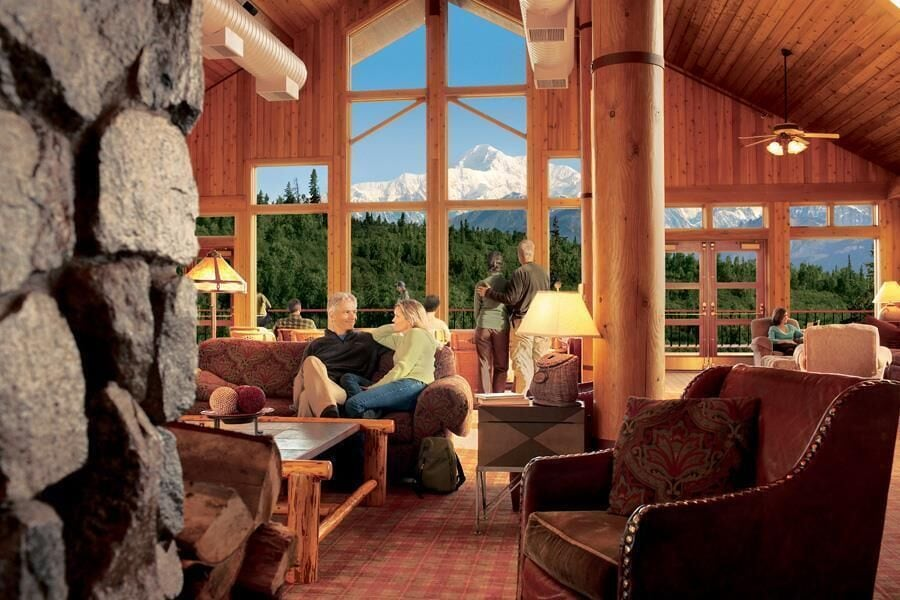 Living Room, MT. Mckinley Princess Lodge
