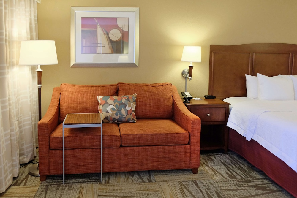 Living Area, Hampton Inn Lima