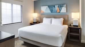 1 개의 침실, 고급 침구, 필로우탑 침대, 객실 내 금고