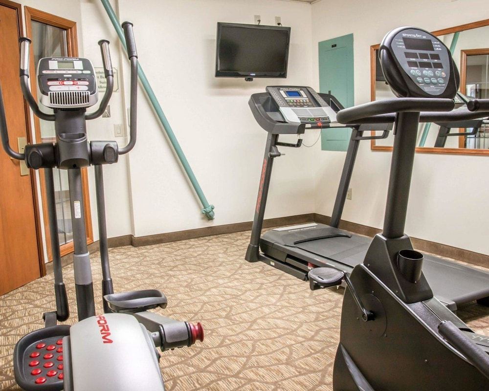 Fitness Facility, Sleep Inn & Suites - Airport