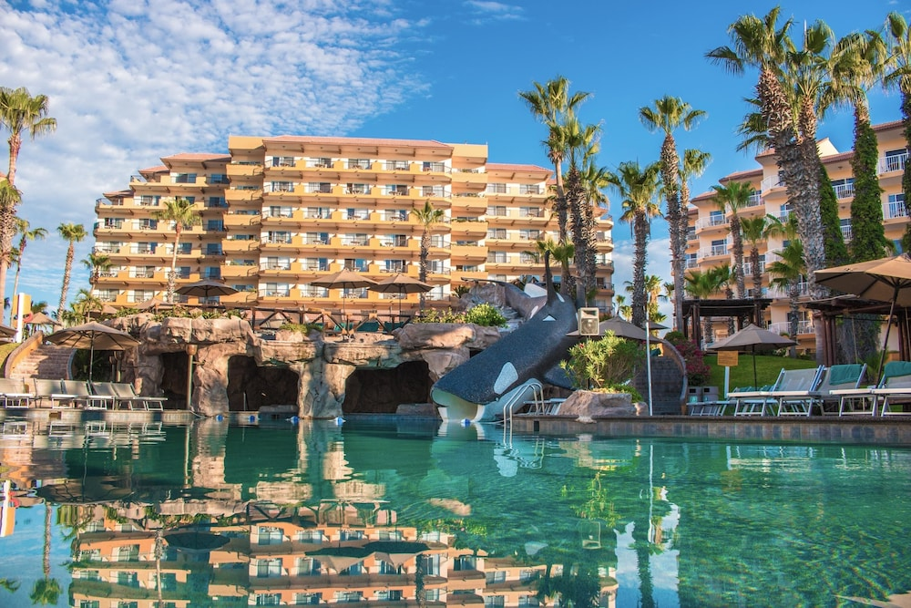 Waterslide,  Villa del Palmar Beach Resort Cabo San Lucas - All Inclusive Options Available