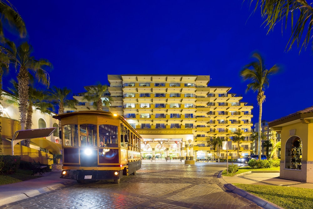 Front of Property - Evening/Night,  Villa del Palmar Beach Resort Cabo San Lucas - All Inclusive Options Available