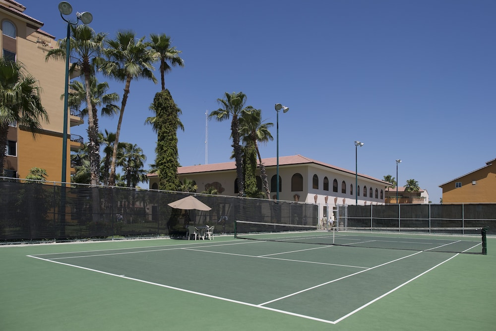 Tennis Court,  Villa del Palmar Beach Resort Cabo San Lucas - All Inclusive Options Available