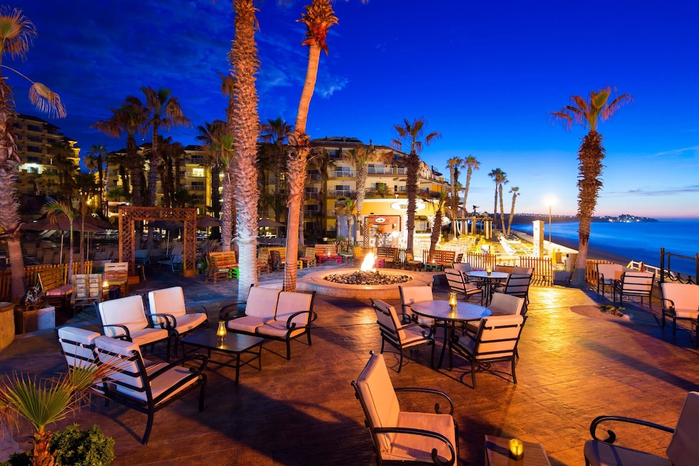 Terrace/Patio,  Villa del Palmar Beach Resort Cabo San Lucas - All Inclusive Options Available