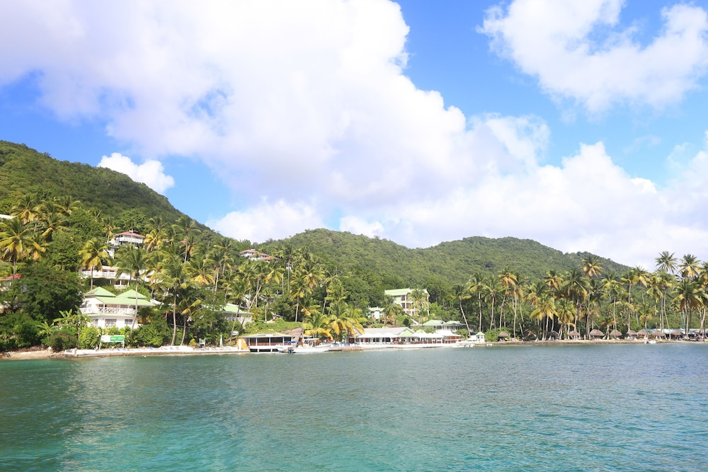 View from Property, Marigot Beach Club and Dive Resort