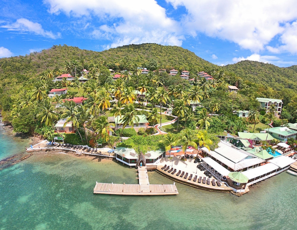 Front of Property, Marigot Beach Club and Dive Resort