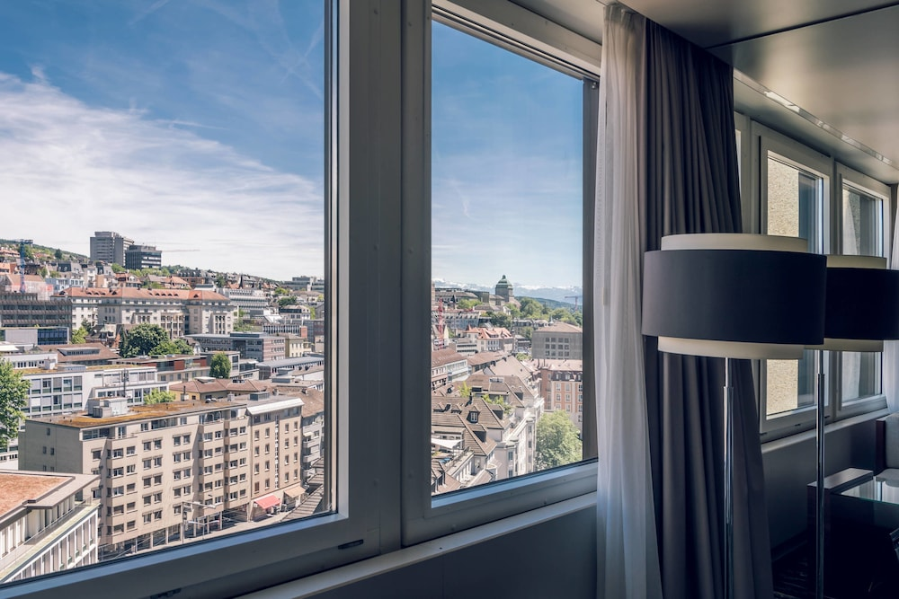 View from Room, Zurich Marriott Hotel