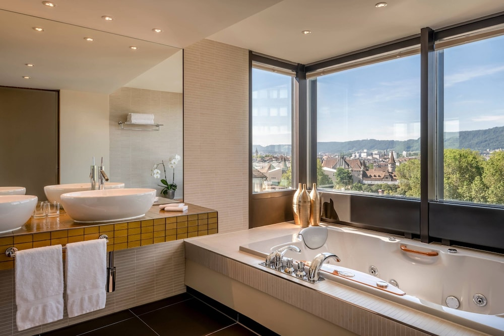 Bathroom, Zurich Marriott Hotel