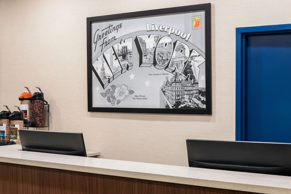 Reception, Super 8 by Wyndham Liverpool/Syracuse North Airport