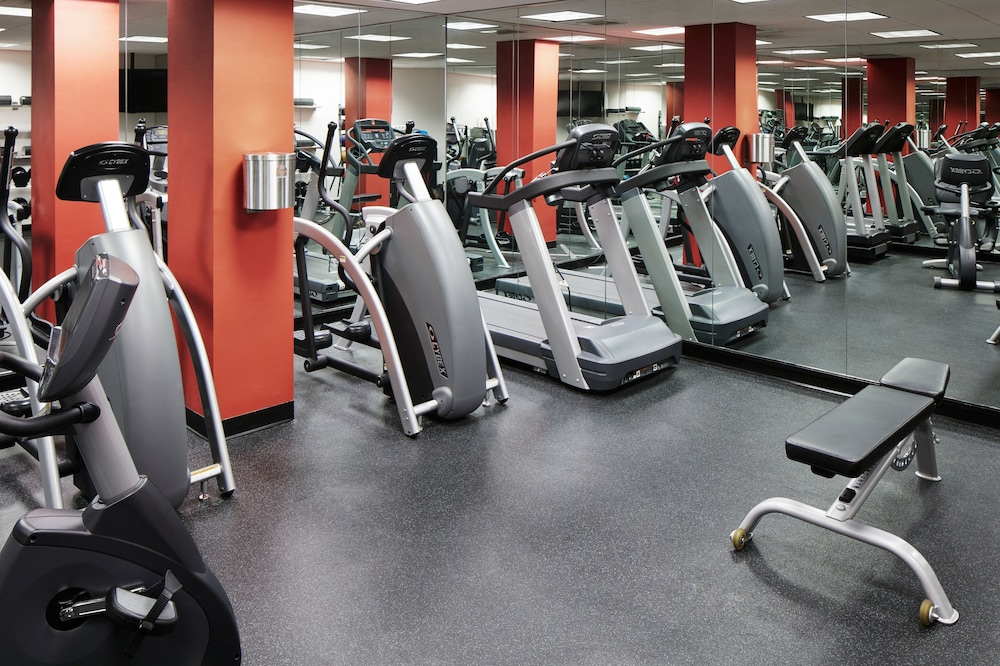 Fitness Facility, Club Quarters Hotel in Boston