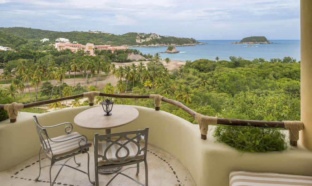 View from Room, Quinta Real Huatulco