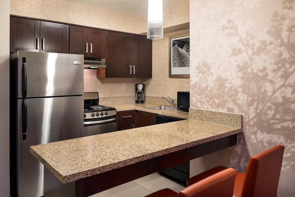 Private Kitchen, Residence Inn by Marriott Milpitas Silicon Valley