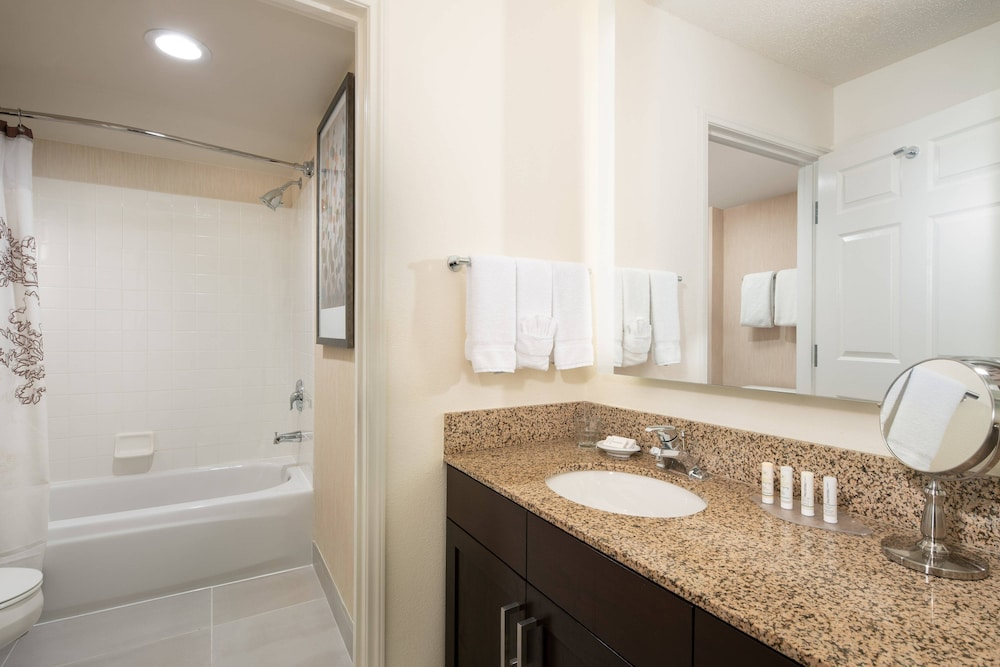 Bathroom, Residence Inn by Marriott Milpitas Silicon Valley