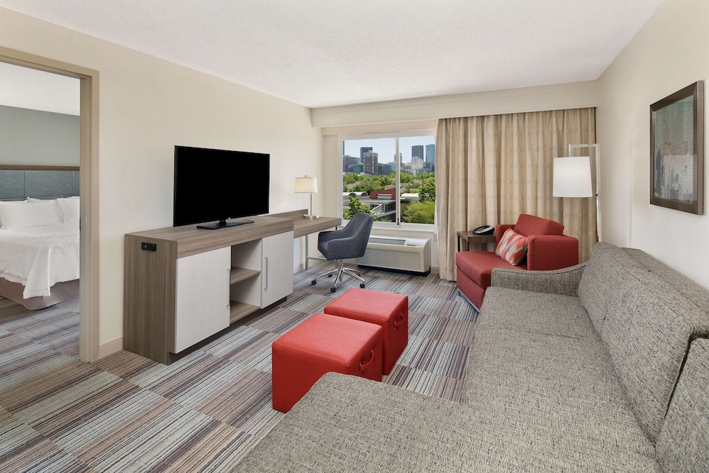 Living Area, Hampton Inn Atlanta-Georgia Tech-Downtown